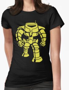 Manbot - Lime Variant Womens Fitted T-Shirt