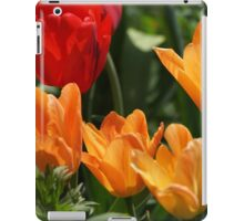 Tulips in Orange and Red iPad Case/Skin