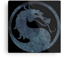 °GEEK° Mortal Kombat Metal Print