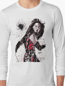 Elektra Ink Splatter Long Sleeve T-Shirt