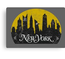 New York (The Cities of Comics) Canvas Print