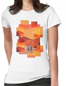 Mars Holidays Womens Fitted T-Shirt