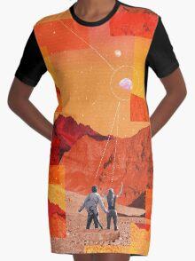 Mars Holidays Graphic T-Shirt Dress