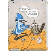 Regular Show Rigby and Mordecai iPad Case/Skin