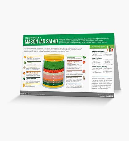 Cook Smarts' How to Make a Mason Jar Salad Greeting Card