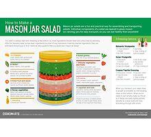Cook Smarts' How to Make a Mason Jar Salad Photographic Print