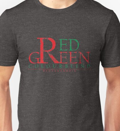 Colourblind - Red Green (Worn) Unisex T-Shirt