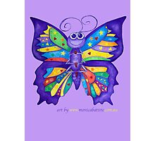 Yoga Butterfly; Namaste  Photographic Print