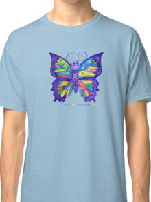 Yoga Butterfly; Namaste  Classic T-Shirt