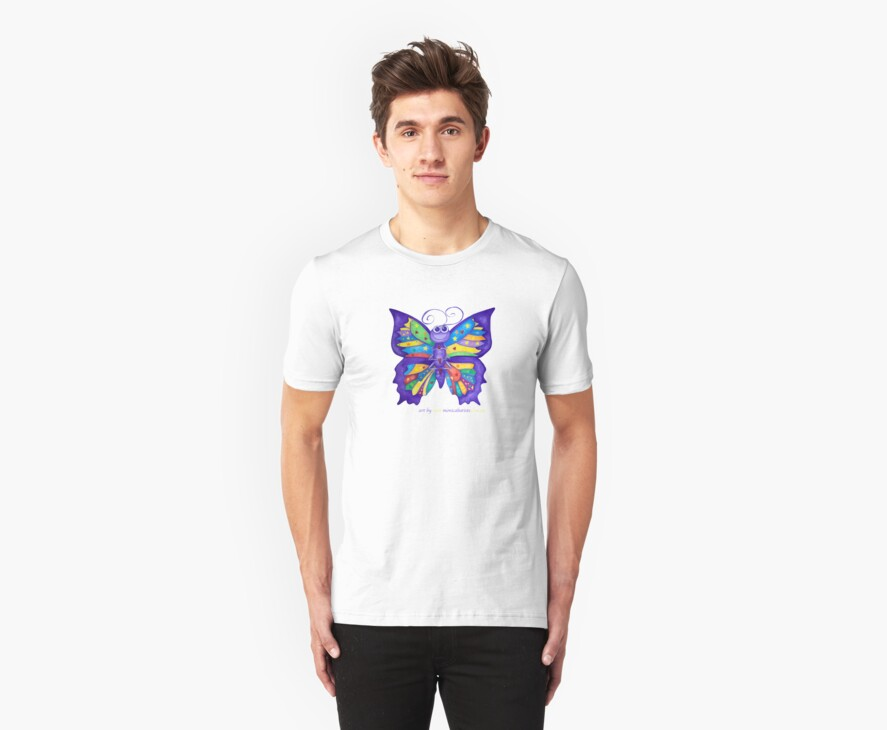 Yoga Butterfly; Namaste  by Monica Batiste