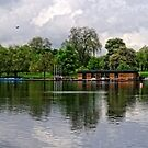 A Panoramic View of The Serpentine, Hyde Park, London by Stephen Frost