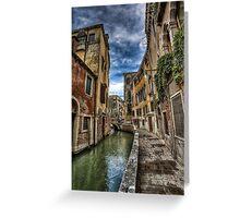 Venezia 3 Greeting Card