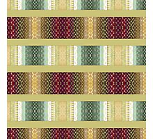 Western, SouthWest, Fashion, Stripes, Bold Colors Photographic Print