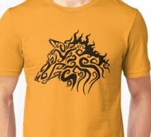 Trible Fire Wolf Unisex T-Shirt