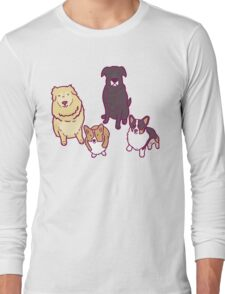 Dogs of a feather  Long Sleeve T-Shirt