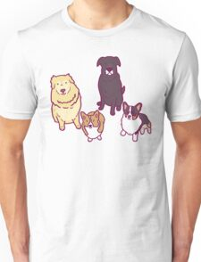 Dogs of a feather  Unisex T-Shirt