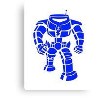 Manbot - Blue Variant Canvas Print