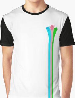 Powerpuff Girls Silhouette Graphic T-Shirt