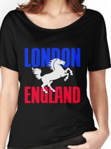 LONDON, ENGLAND-2 Women's Relaxed Fit T-Shirt