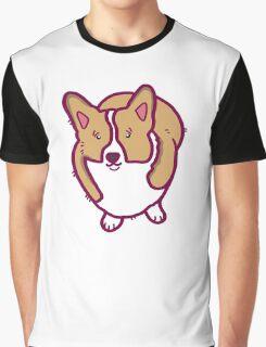 A Corgi Named - Maggie Graphic T-Shirt