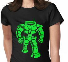 Manbot - Super Lime Variant Womens Fitted T-Shirt