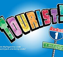 Tourist! Year 1 Logo by Kyle Gentry