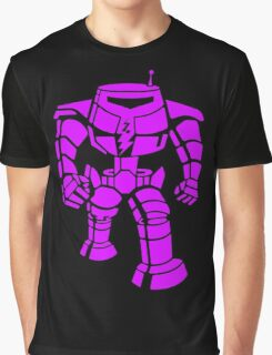 Manbot - Purple Variant Graphic T-Shirt