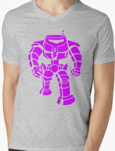 Manbot - Purple Variant Mens V-Neck T-Shirt