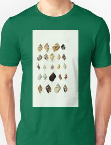 Thesaurus conchyliorum Monographs of genera of shells George Brettingham Sowerby 1887 V1-V5 096 Unisex T-Shirt