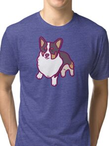 A Corgi Named - Winston Tri-blend T-Shirt