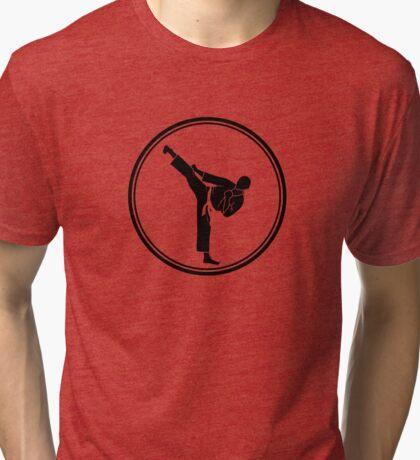 Mens Martial Arts Tri-blend T-Shirt