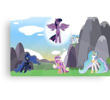 [MLP] Princesses Canvas Print