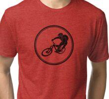 Mens Mountainbiking Tri-blend T-Shirt