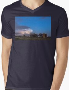Country Storm Gone By Mens V-Neck T-Shirt