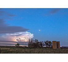Country Storm Gone By Photographic Print