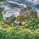 In an English Country Garden by Nigel Bangert