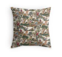 Fabric Art, Golfers Delight Throw Pillow