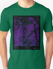 USGS TOPO Map Alabama AL Calhoun 303395 1981 24000 Inverted Unisex T-Shirt