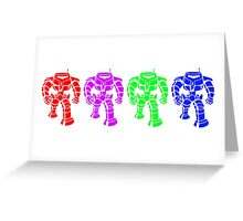 Manbot - Multi Variant Greeting Card