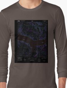 USGS TOPO Map Alabama AL Wheeler Dam 20120118 TM Inverted Long Sleeve T-Shirt