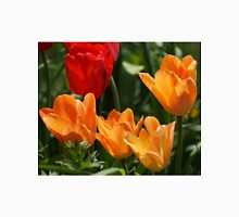Tulips in Orange and Red Unisex T-Shirt