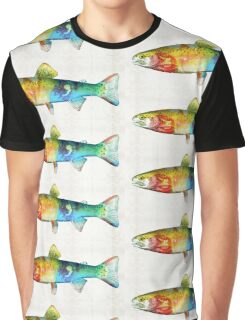Rainbow Trout Art by Sharon Cummings Graphic T-Shirt