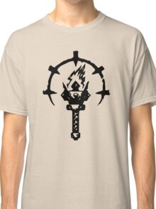 Iron Crowned Torch Classic T-Shirt