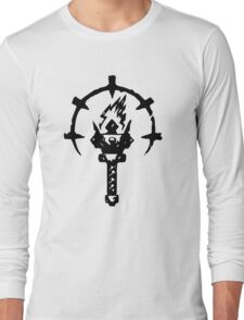Iron Crowned Torch Long Sleeve T-Shirt
