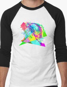 Daft Punk'd: Derezzed_04 Men's Baseball ¾ T-Shirt