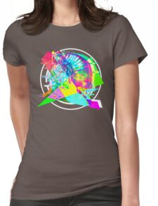 Daft Punk'd: Derezzed_04 Womens Fitted T-Shirt