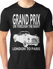 GRAND PRIX-LONDON TO PARIS Unisex T-Shirt