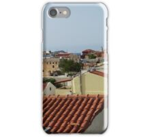 Across the rooftops iPhone Case/Skin
