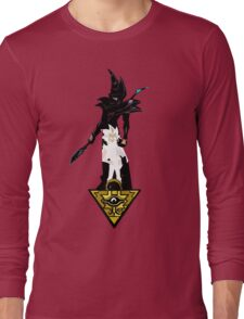 """""""Yu-Gi-Oh"""" Fan Art (Yugi Muto / Dark Magician) Long Sleeve T-Shirt"""