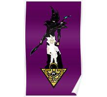 """""""Yu-Gi-Oh"""" Fan Art (Yugi Muto / Dark Magician) Poster"""